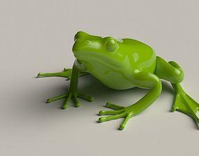 Frog basemesh 5k tris 3D asset