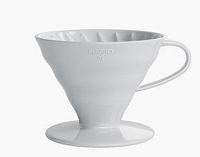 Hario V60 Ceramic Dripper 3D model