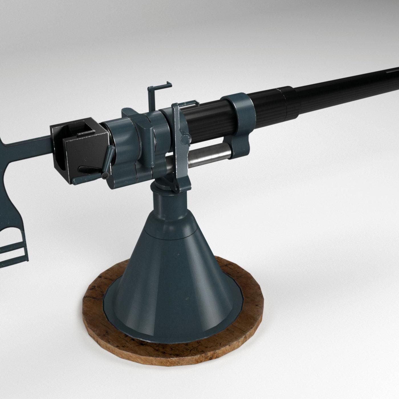 47-mm Hotchkiss gun