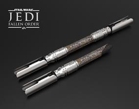 3D print model Cal Kestis Lightsaber - Jedi Fallen