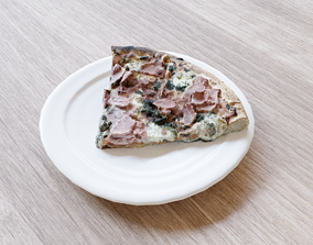 realtime Pizza Feliciana slice 3d scanned