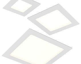 224xxx Zocco Lightstar LED panel 3D
