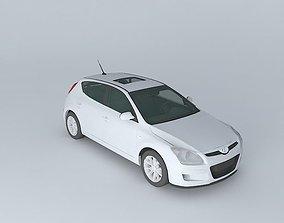 3D model VR / AR ready 2008 Hyundai i30
