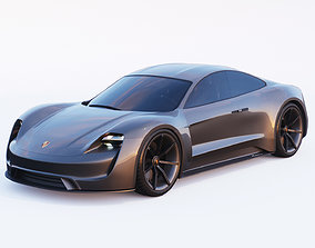 3D Porsche Mission E
