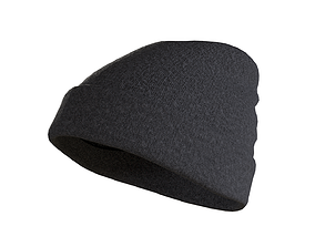 Beanie Hat Low-poly 3D model low-poly
