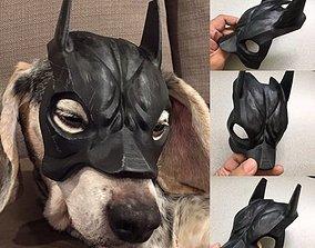 perro Bat-can mask 3D printable model