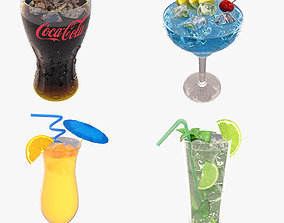 3D Cocktail Collection