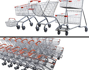3D Shopping cart Pack