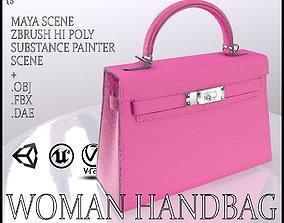 Woman Handbag 3D asset