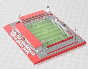 3D printable model Hamilton Academicals - New Douglas Park