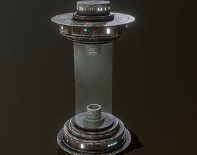 Sci-Fi Capsule game-ready 3D model