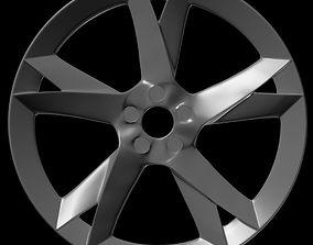 Car rim 2 3D asset