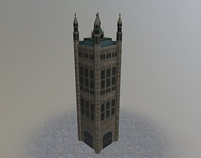 3D model London Victoria Tower