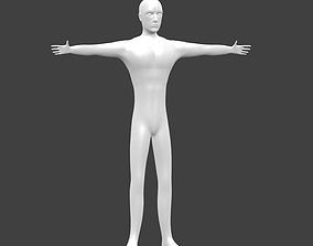 3D asset Simple Human
