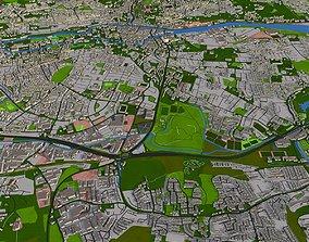 Cork City Ireland 2021 data 3D model