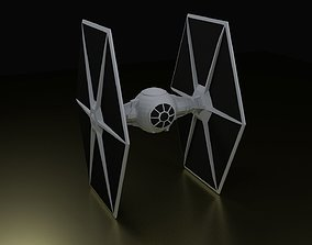 TIE Fighter 3D print model