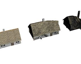 3D asset Cottage Pack