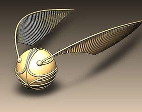 3D print model Harry Potter Golden Snitch