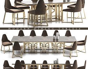 DINNING TABLE 14 3D model