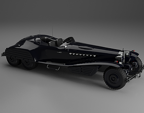Hydra Schmidt Coupe 3D model