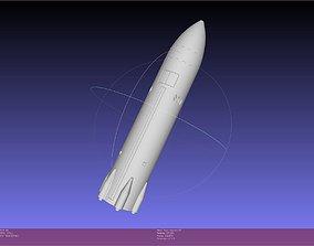 Space X Lunar Starship Printable Model rocket