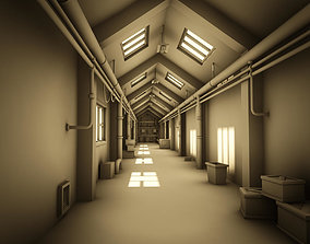 entranceway Corridor 3D