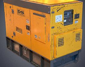Industrial Power generator 2 3D model