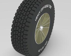 3D model Rim and Tire