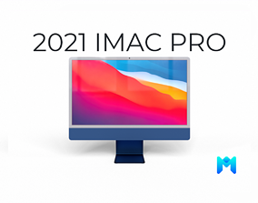2021 imac pro all colors game asset low-poly