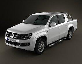 3D model Volkswagen Amarok CrewCab 2010