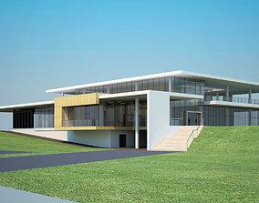 Indochian building Exterior 3D