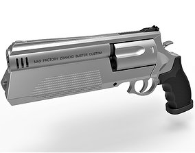 3D model Zoanoid Buster revolver from the