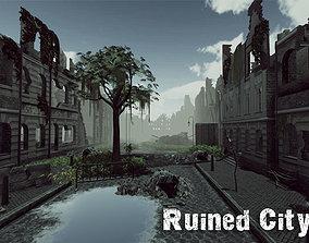 Ruined City Update 3D asset