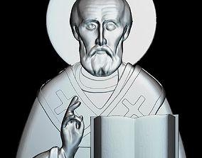 3D printable model 68 RELIGION ICON St Nicholas
