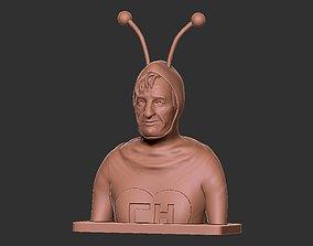 3D printable model Chapulin Colorado Bust