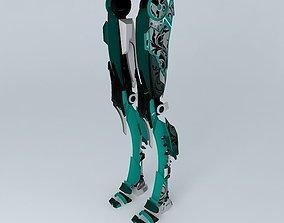 Mecha legs 3D