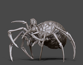 3D print model Arachne - Spider queen- 35mm scale