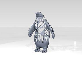 Penguin Dust Voronoi 3D model