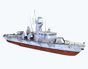 3D model Goteborg Missile Boat