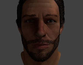 3D CG Character Head