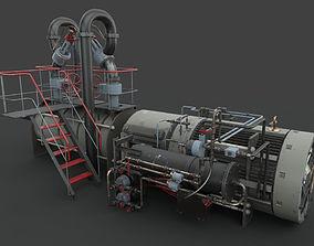 3D model PBR Machinery device