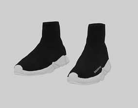 3D model Balenciaga Sock Sneakers sneaker