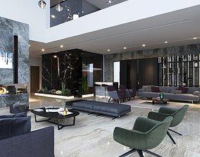 Interior Villa SA first floor 3D model