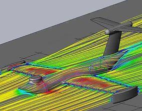 3D print model Basic Ekranoplan Inspired Ground Effect
