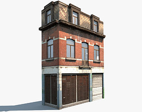Apartment House 43 3D model