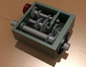 3D print model Lathe Head Stock Gears