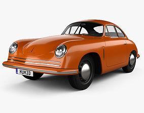 Porsche 356 Coupe 1948 3D