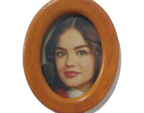 3D printable model Photo frame oval 30x40 for magnet or 1