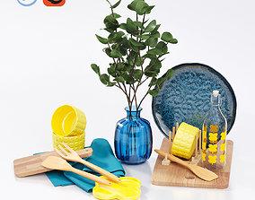 IKEA summer set eucalyptus 3D