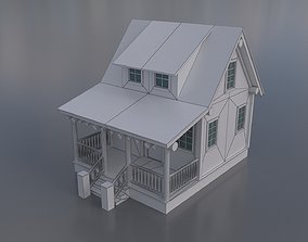 3D asset Country House Collection 01